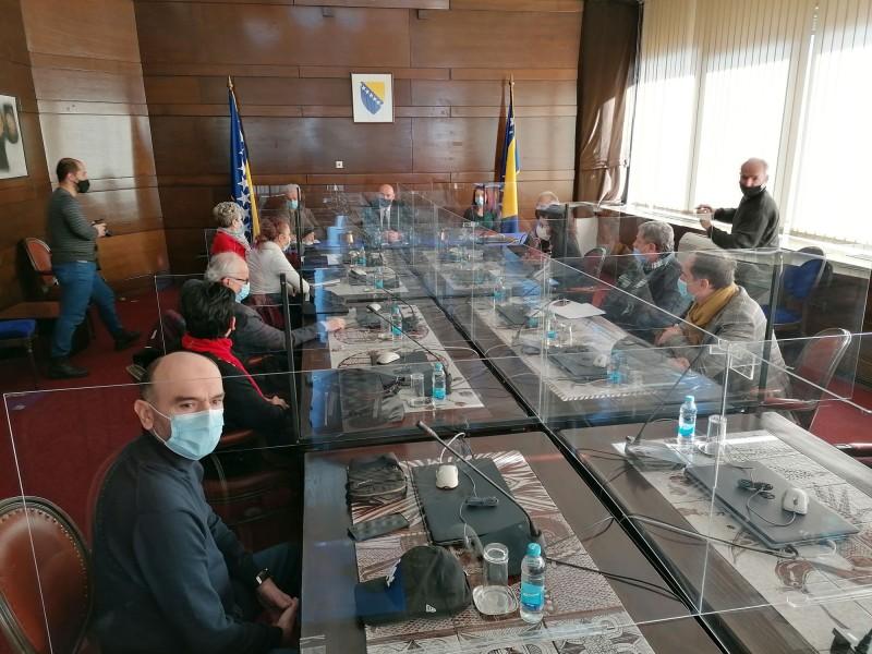 Sastanak VOOSI sa Ministrom Drljačom 1