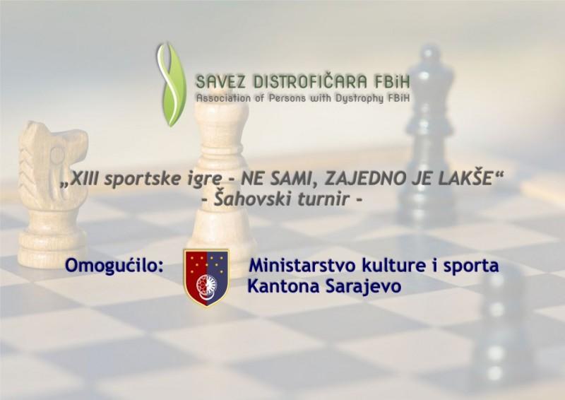 Najava XIII sportskih igara Saveza distrofičara F BiH 1