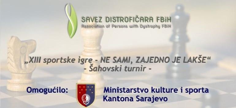 Najava XIII sportskih igara Saveza distrofičara F BiH